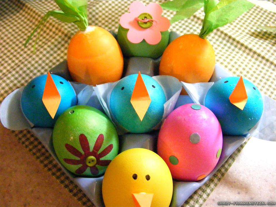 come decorare le uova di pasqua - bianco rosso e rosé - cantine e