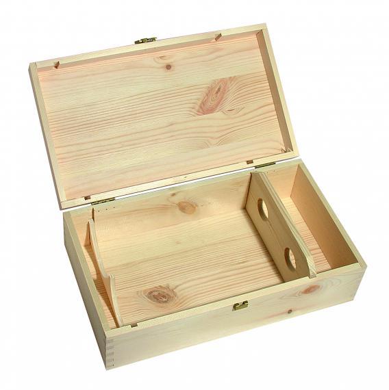 CMV srl: cassetta in legno per 2 bottiglie