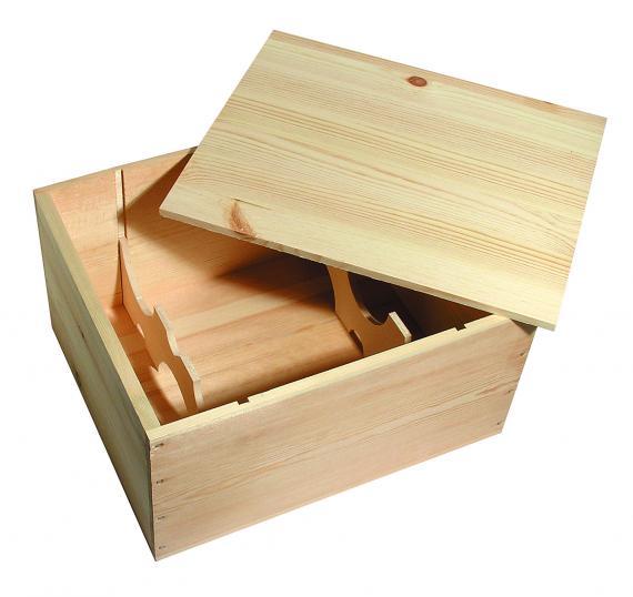 CMV srl: cassa in legno per 6 bottiglie